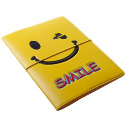 Passport Holder ID Cards Holder Smiling Face