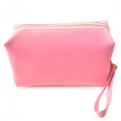 Travel Protable Make Up Cosmetic Pouch Storage Holder Case Hand Bag Pink