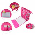 Tote Diaper Bag Multi-function Mommy Bag Hand Shoulder Bag Colorful Yellow