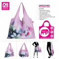 Creative Fashion Style Colorful Tote Shopping Traveling Bag Foldable Reusable