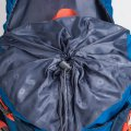 Outdoor Sport Traveling Climbing Backpack Capacity 60L Water Resistant Blue
