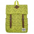 Unisex Travel Backpack Fruit Green