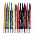 Eyeliner Eye Shadow Pencils Colorful 12 Pieces/pack Color No. Mix Colors