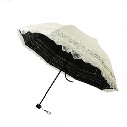 New Lace Lacework Folding Pagoda Umbrella Sun Rain Anti UV Princess For Wedding