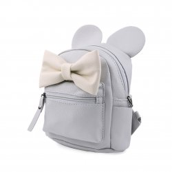 Women Backpack Mickey ears Sweet girl Bowknot College Wind Travel Shoulder Bag