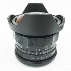 7.5mm f2.8 Aspherical Super Wide Fisheye Lens for Fujifilm FX / X 8mm