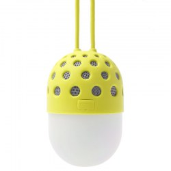 LED Firefly Wireless Bluetooth Speaker Light ZL-106 Yellow