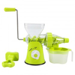 Household Fruit Processor Multi-function Manual Juice Extractor Green