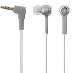 Digital Stereo Earphone High-Performance Isolation Earphones Silver