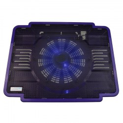 Cool Cold Newly Laptop Cooling Pad Laptop Fan Cooler Laptop Base Purple