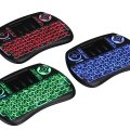 iPazzPort Wireless Mini Keyboard Three Blacklight Touchpad PC TV KP-810-21SL-RGB