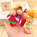 Fanny Story Finger Puppets Animals And People Family Members Educational Toy