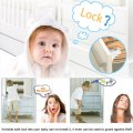 4 x Magnetic Cabinet Drawer Cupboard Locks for Baby Kids Safety Child Proofing