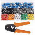 Crimp Tool Pliers Terminal Set 800 Connector Wire Terminal Chrome Vanadium Alloy