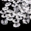 Transparent Beads 18MM Crystal Beads Chandelier Parts Prism Wedding Decor