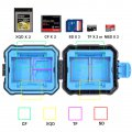 PULUZ Waterproof Camera Memory Card Box Carrying Case Cartridge Data Card
