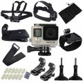 Waterproof GoPro Hero 4 3+Camera Accessory Set for Outdoor Camera Photographer