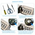 Laptop Cable Lock Notebook Combination Lock Security Cable 2.2m