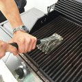 Grill Brus 3 in 1 Safe Barbecue Grill Brush Wire Bristles Stainless Steel Sturdy BBQ Cleaner Effort