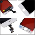 LCD Screen Frame Assembly for iphon6spuls LCD Touch scree replacement white