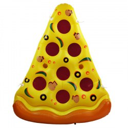 HRT Inflatable Pizza Pool Float