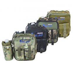 Multi-Function Fishing Bag Waist Bag Leg Bag Waterproof Fishing Gear Bag Army Green Camouflage
