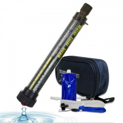 Life Straw Water Filter for Hiking, Camping, Travel B3S Set Cyan