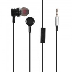 In-Ear Earphones PLY-025 Black