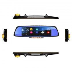 An on-board vehicle traveling data recorder all-in-one 7 inch screen android