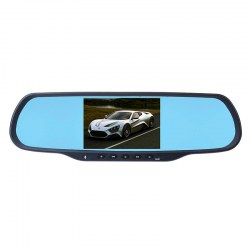 An on-board vehicle traveling data recorder all-in-one 5 inch android navigation