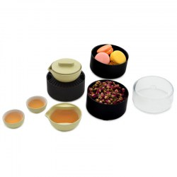 Pertouch Chinese Kung Fu Tea Set Fashion Version Green