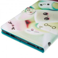 E-book Protective Cover for Kindle Fire HD8 Cute Marshmallow
