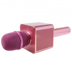 Aodasen The karaoke handheld bluetooth speaker microphone JY-50 rose gold