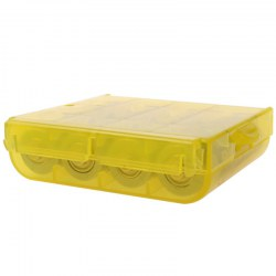 BTY 5, 7 AA AAA battery receive a case yellow