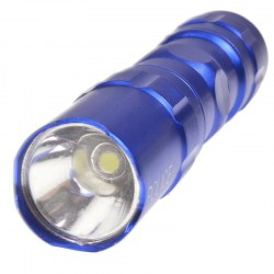 324 LED Mini Flashlight Torch Blue