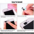 Aluminum Alloy Webcam Cover for Laptops PC Phones Camera for Privacy and Security Black