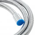 Shower Hose Ultra-Long Stainless Steel Hose for Showering Head 1/2-Inch Iron Pipe 1.5 Meters