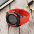 Smart Watch For Adults Children with SIM Card Call Slot IPS Screen Bluetooth Watch V8 Red