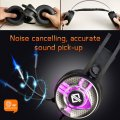 AX360 Gaming Headset Over Ear Headphone with Mic Gaming Earphone Black