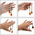 Newly Finger Fidget EDC Begleri Aluminium Alloy Reduce Pressure Orange