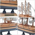 Wooden sailing Mediterranean gift art students