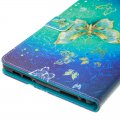 E-book Protective Cover for Kindle Fire HD8 Golden Butterfly