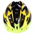 Outdoor Goods Protective Helmet Elastic Helmet Unibody Cycling Helmet 016 Yellow
