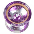 Magic yoyo M002 April Profession YOYO Ball Purple Silver