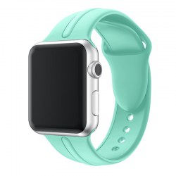 Silicone Gel Watchband for Apple Watch 1/2/3 38mm