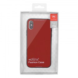 Mutural Phone Case for IphoneX Red