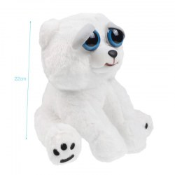 Plush Doll Adorable Plush Pets Stuffed Bear that Turns Feisty with a Squeeze