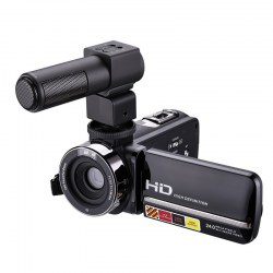 HDV-301STRM DV Camera Support IR Night Shot HD Camera With Microphone