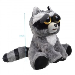 Plush Doll Adorable Plush Pets Stuffed Raccoon that Turns Feisty with a Squeeze
