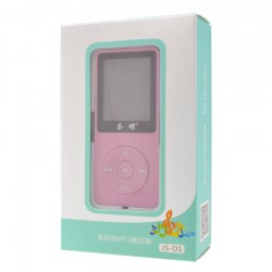 MP4 Player 1.8'' Screen 8GB FM Lossless Music Video With Speaker Pink